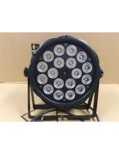 Foco PAR LED 18 LED 12W RGBW 16 bit