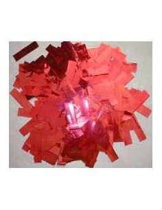Confetti Rosa  Metalizado Rectangular 2X5 cm