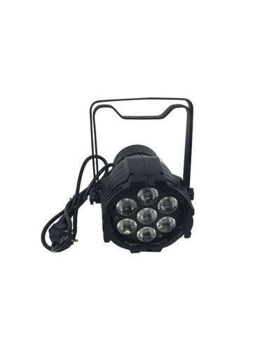 PAR LED 7X12W RGBW Aluminio