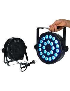 Foco PAR LED 24X3W RGBW