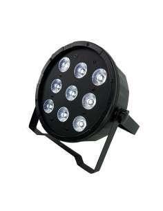 Foco PAR LED 9X12W RGBW