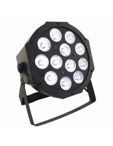 Foco PAR LED 12X12W RGBW