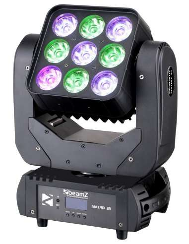BeamZ Matrix33 Cabeza movil