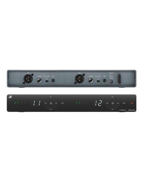 XSW 1-825 DUAL. Set inalámbrico DOBLE VOCAL CARDIOIDE