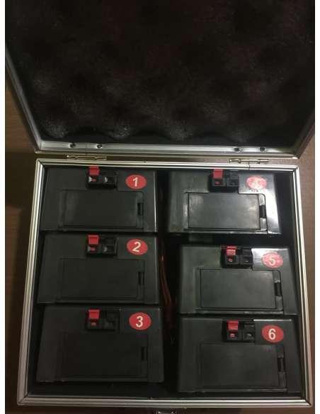 Sistema de 6 bases de disparo