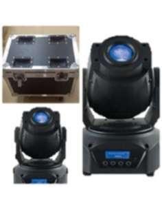 Cabeza móvil LED 90W PRO Flight Case