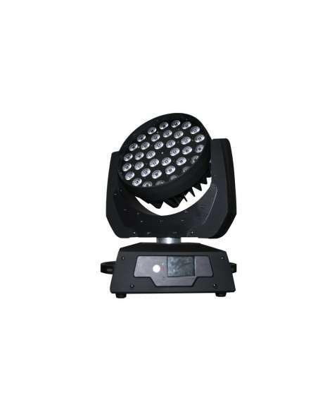 Cabeza móvil LED 36X10W RGBW con ZOOM