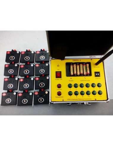 Consola de disparo Profesional. Sistema de disparo de pirotecnia 10 canales