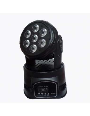 Cabeza móvil WASH 7X12W RGBW ImpreWashMINI7