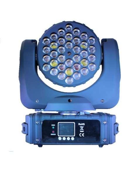 Cabeza móvil BEAM LED 36 LED 3W ImpreBEAM363