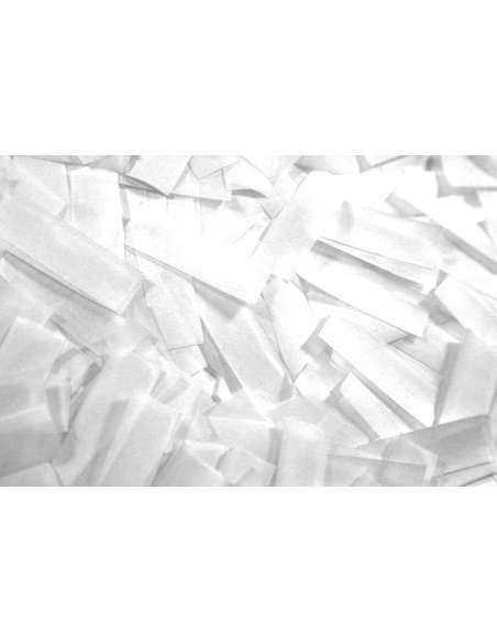 Confetti Blanco Rectangular 2X5 cm