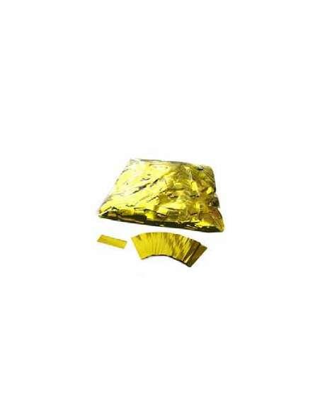 Confetti Dorado Rectangular 2X5 cm