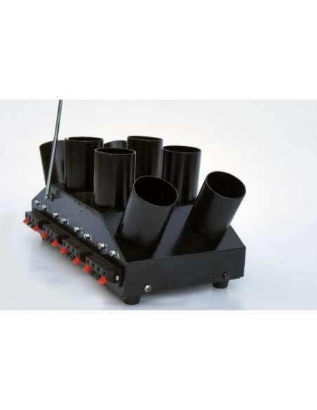 Sistema de disparo de Pirotecnia de interior 8 Bases en Abanico
