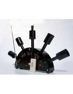 Sistema de disparo de Pirotecnia de interior 5 Bases en Abanico