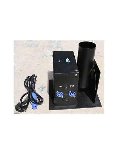 Máquina para disparo de 1 cañon de confetti inalambrica. Orientable Con PowerCon