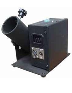 Máquina para disparo de 1 cañon de confetti inalambrica. Orientable Con DMX