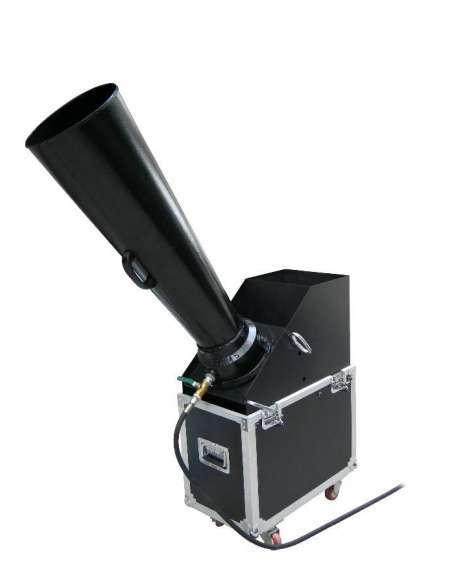 Mini Confeti Blaster. Con Flight Case