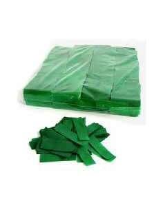 Confetti Verde Rectangular 2X5 cm Ignifugo