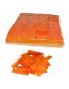 Confetti Naranja Rectangular 2X5 cm