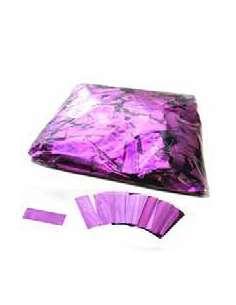 Confetti Morado Metalizado Rectangular 2X5 cm