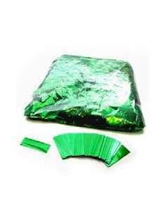 Confetti Verde Metalizado Rectangular 2X5 cm