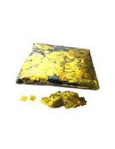 Confetti Dorado Cuadrado 1X1 cm