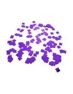 Confetti Morado Metalizado Cuadrado 1X1 cm
