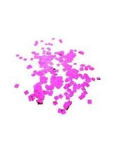 Confetti Rosa Metalizado Cuadrado 1X1 cm