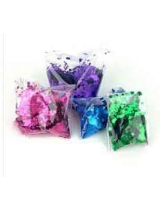 Confetti Multicolor Metalizado Cuadrado 1X1 cm