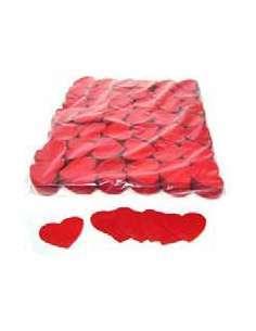 Confetti Rojo Forma Corazones