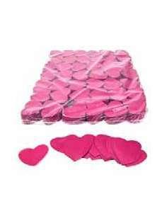 Confetti Rosa Forma Corazones