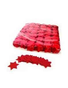 Confetti Rojo Forma Estrellas