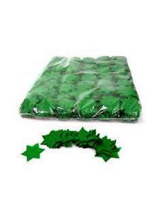 Confetti Verde Forma Estrellas
