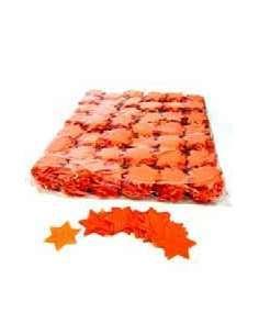 Confetti Naranja Forma Estrellas