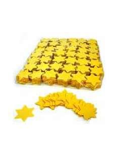 Confetti Amarillo Forma Estrellas