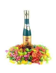 Botella Champagne 60 CM Confeti