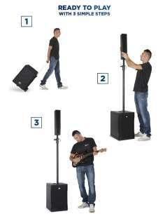 Sistema de sonido RCF EVOX 5
